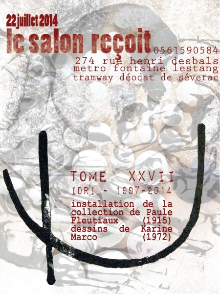 flyer salon reçois 2