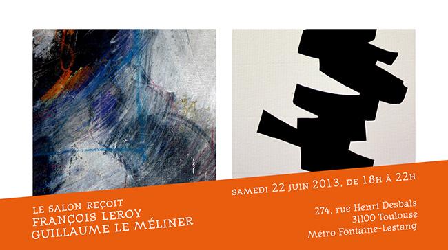 Le Salon reçoit François Leroy et Guillaume Le Méliner